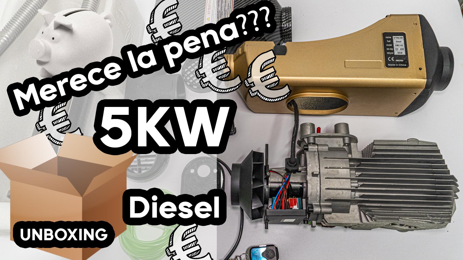 Review Calefactor gasoil 5kw